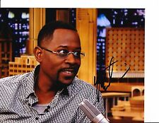 MARTIN LAWRENCE SIGNED BIG MOMMA'S HOUSE TALK SHOW 8X10