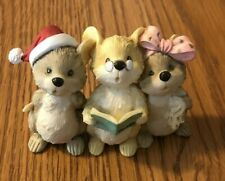 Roman Inc Christmas Mice Caroling Vintage 1995 Absolutely Adorable In Good Shape