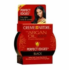 Creme of Nature With Argan Oil From Morocco Edges GEL Black 2.25 Oz