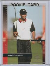 TIGER WOODS ROOKIE CARD 1st PGA Tour Victory GOLF RC UD Premier Edition LE