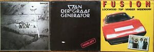 3 ALBUMS ROCK PROGRESSIF VAN DER GRAAF VANDER UNIVERS ZERO LOCKWOOD VINYL LP 33T