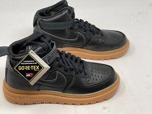 Nike Air Force 1 High GTX Boot Sz-11 Black Gum CT2815-001 Gore-Tex No-Box-Lid