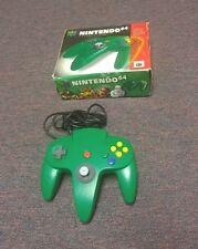 Original Nintendo 64 System Green Controller Complete w/ Box
