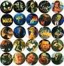 TAZOS PELICULAS POGS Coleccion Completa Cromos Batman Casper Corazon Valiente