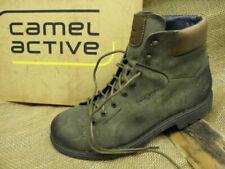Details zu Camel Active Taylor, 466.13.02, lässige Biker Boots aus Leder **Übergröße**