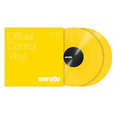 "2x Serato Standard Colours Timecode Vinyl Record for DVS DJ (PAIR) - YELLOW 12"""