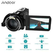 Andoer HDV-Z20 Portable 1080P Full HD Digital Video Camera 16× Digital Zoom T1R0