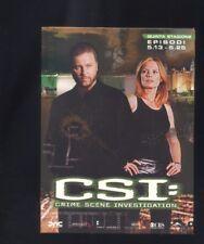 CSI Crime Scene Investigation 3 Dvd - Stagione 5 - episodi 13 - 25 cofanetto  R
