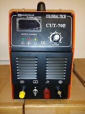 Pilot ARC Plasma Cutter CUT70F IGBT 70AMP Inverter Voltage 220V & 27 Consumables