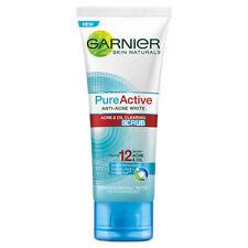 Garnier Pure Active anti acne & oil white Facial Face skin care scrub Foam 100ml