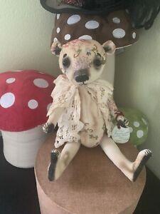 HANDMADE OOAK  TEDDY BEAR by DARIA SIKORA MYPRIMITIVEDOLLS