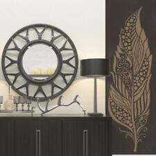Large Feather Stencil For Walls - Decorative Feather Wall Stencil - Feather Wall