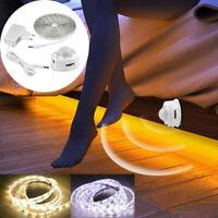 1-5M LED Light Strip Activated Lamp PIR Motion Sensor Wardrobe Cabinet Bed Home