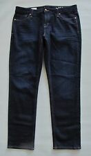 "Gap Jeans Real Straight 33 16 Dark Stretch 1969 Denim Slim Low Rise 31"" 2014"