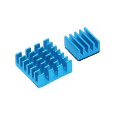 2X AU Aluminum Heat Sink Blue Cooling Cooler for Raspberry Pi 2 3 Model B Rpi B+