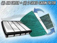 AIR FILTER HQ CABIN FILTER COMBO FOR 2009 2010 2011 2012 2013 2014 TOYOTA TUNDRA