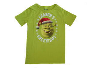 Shrek Seasons Greetings Junior T-Shirt NWT