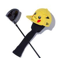 NEW ERA Golf x POKEMON Head Cover for Driver 460cc Pikachu Big Face Japan New