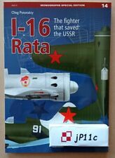 I-16 Rata. The fighter that saved the USSR - Kagero Monograph Special English