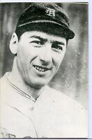 Old Baseball Photo Postcard John Prodhomme