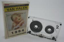VAN HALEN  ** Musikkassette MC Tape Cbox ** Läuft **