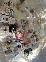 30Pc + figure keychain charm strap pin badge anime Japan wholesale lot