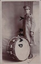 WW1 Bass Drummer W?Smithers Freiwilliger Force General Service Labour Corps ?