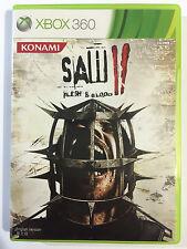 saw II 2 flesh and blood Xbox 360 Game