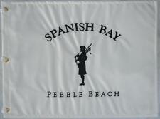 SPANISH BAY GOLF COURSE Embroidered Golf FLAG