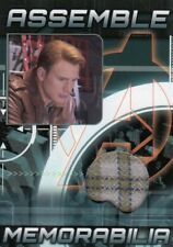 Avengers Assemble AS-5 Steve Rogers Memorabilia Relic Card