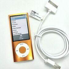 Apple iPod Nano 5eme Generation 16go orange A1320 + câble - (Voir Description)