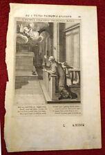 Originaldrucke (bis 1800) aus Italien mit Figürlich