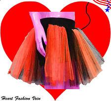 Plus Size Red Blak Tone tutu skirt Adult Ladybug Dance Party Halloween Christmas