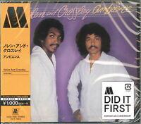 NOLEN & CROSSLEY-AMBIENCE-JAPAN CD Ltd/Ed B63