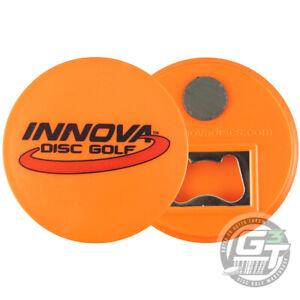 Innova LOGO Bottle Opener Fridge Magnet Disc Golf Mini Marker - PICK YOUR COLOR