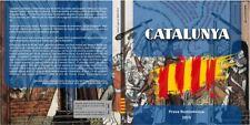 Cartera Set monedas euro en prueba Cataluña 2015 8 monedas Catalunya coins trial