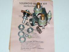 1949-52 Buick Cadillac Oldsmobile Solenoid Switch Repair Kit 1118148 1118156