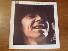 LP 33 T. FENIX GATO BARBIERI YESTERDAYS RCA BDL1 0550 FLYING DUTCHMAN