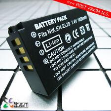 EN-EL20 EL20A ENEL20 ELE20A Battery for Nikon 1V3 Nikon1J3 Nikon1S1 Nikon1V3