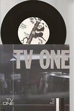 """TV One """"Tv One / The 3rd Wave"""" 7"""" Vinyl Single Pic Sleeve  1999"""
