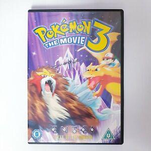 Pokemon 3 The Movie Movie DVD Region 4 PAL Free Postage - Kids Family