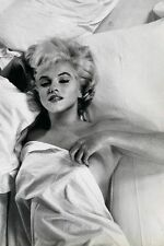 MARILYN MONROE - HOT MESS - FINE ART PRINT POSTER 13x19 - BED SHEETS SEXY ENT002