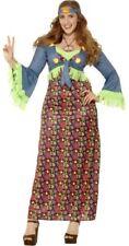 Disfraces de mujer sin marca color principal multicolor Años 70