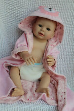 "20"" bebe Reborn Silicone Vinyl body Soft Gentle Touch lifelike Baby Dolls Girl A"