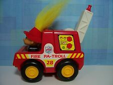 Fire Pa-Troll Fire Truck / Engine - Russ Toy Troll Doll - New Store Stock