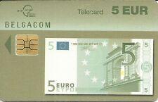 RARE / CARTE TELEPHONIQUE - BILLET 5 EUROS / PHONECARD