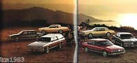 1985 OLDSMOBILE Brochure/Catalog: TORONADO,98,DELTA 88,Cruiser,Royale,Album 1