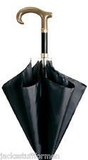 Concord Corno Faux Horn Handle Handcrafted Black Umbrella