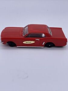 Vintage Ideal Mustang 1960s BODY & CHASSIS ONLY SLOT CAR HONG KONG 4173-1