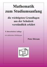 Mathematik zum Studiumsanfang von Peter Dörsam (2014, Taschenbuch)